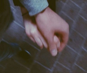 couple, hands, and hold image