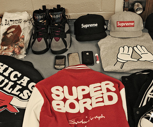 swag, cap, and chicago bulls image