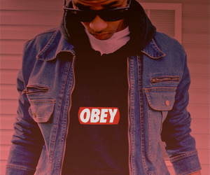 obey, swag, and boy image