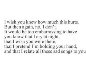 hurt, love, and sad image