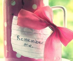 pink, remember, and remember me image