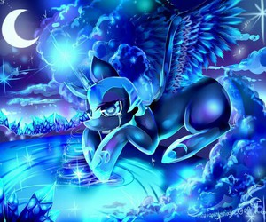 cry, MLP, and princess of night image