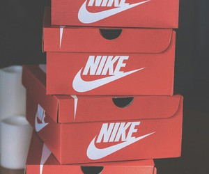 nike, shoes, and box image