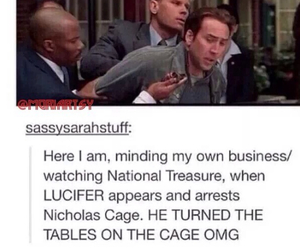 supernatural, lucifer, and nicholas cage image