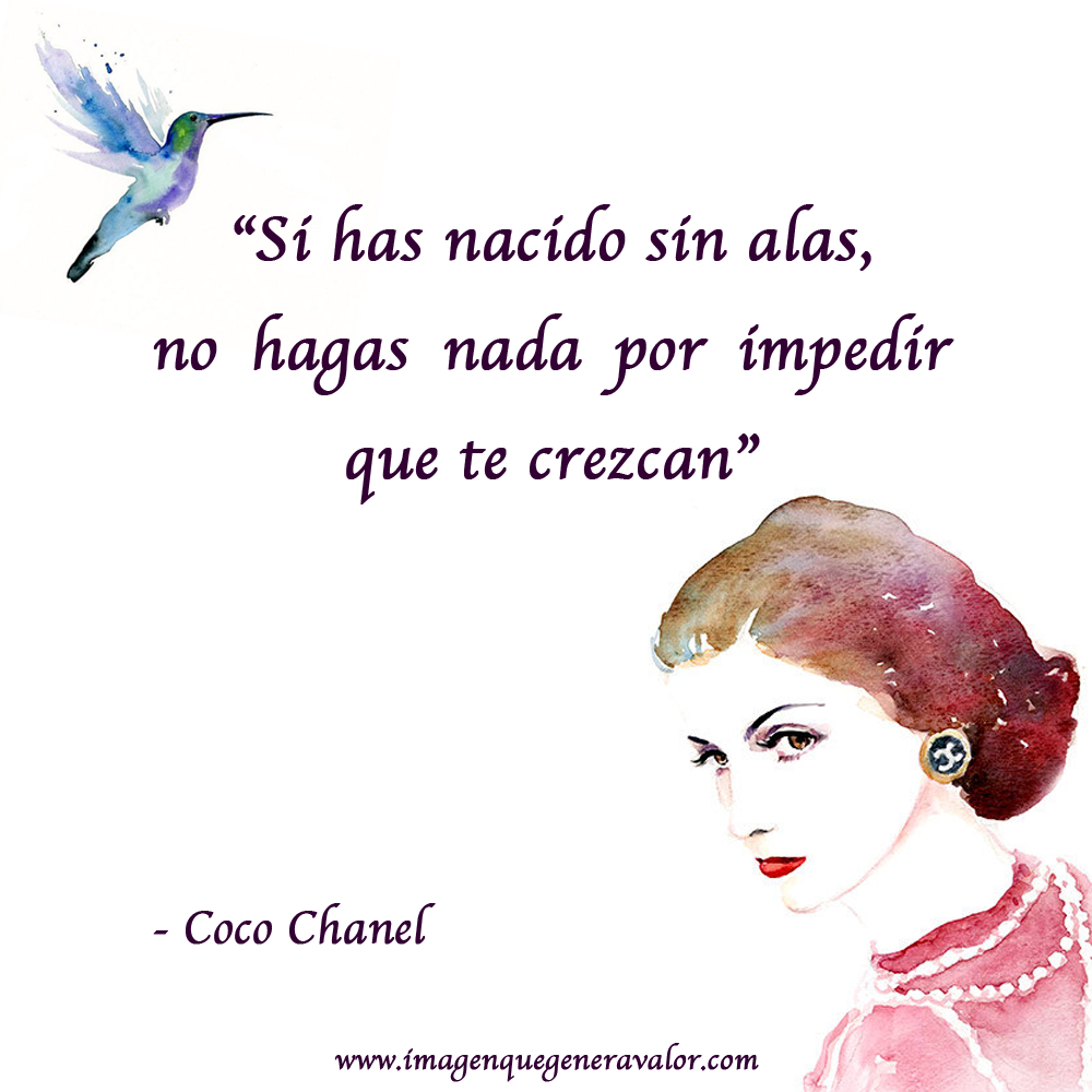 Frase De Coco Chanel Quotes Pinterest On We Heart It