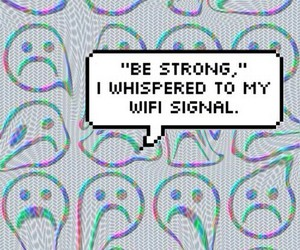 wifi, funny, and grunge image