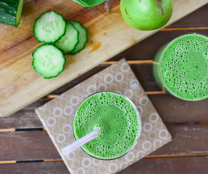fruit, green, and cucumber image