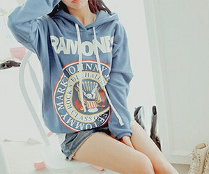 asians, hoodie, and fashion image