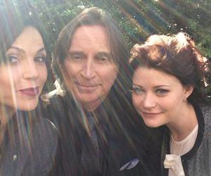 once upon a time, lana parrilla, and evil queen image