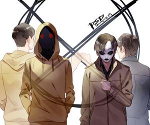 creepypasta, hoodie, and proxy image