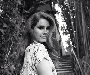 beauty, black and white, and lana del rey image