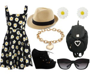 fashion, flower, and perrie edwards image