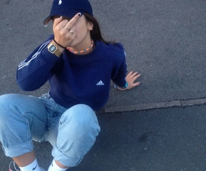 adidas, fuck, and casio watch image