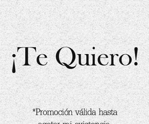 te quiero, frases, and quotes image
