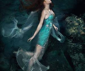 beautiful, mermaid, and romantic image