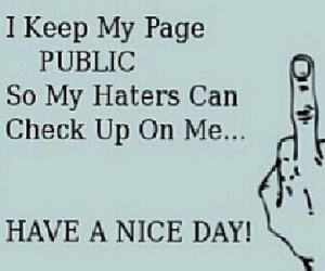 funny, haters, and life image