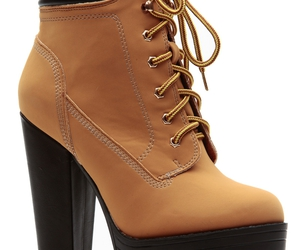 hiker boots, hiker booties, and camel hiker boots image