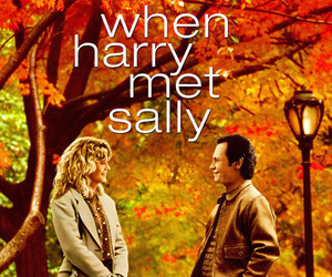 movie poster, when harry met sally, and romance image