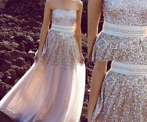 dress, fashion, and prom dress image