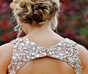 dress, hair, and blonde image