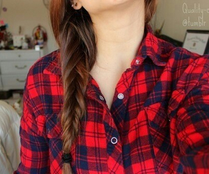tumblr, hair, and braid image