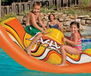inflatable see saw float image