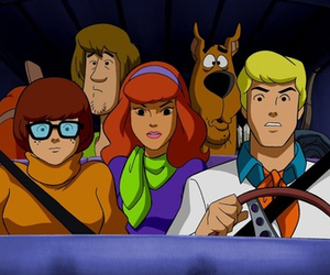 scooby-doo, Fred, and scooby doo image