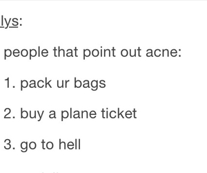 acne, school, and tumblr image