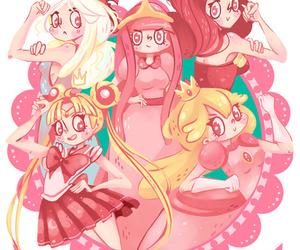 sailor moon, princess, and peach image