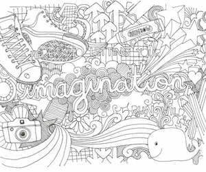 drawing, imagination, and art image