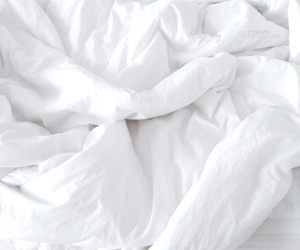 sheets, bedroom goals, and white image