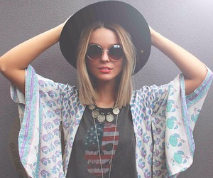 boho, camera, and fashion image