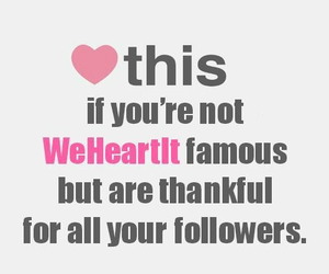 followers, heart, and famous image