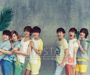 infinite and the star image