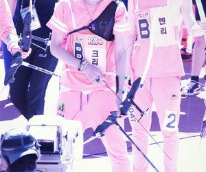 exo, kris, and idol championships image