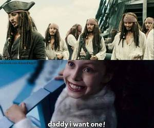 captain jack sparrow, funny, and johnny depp image