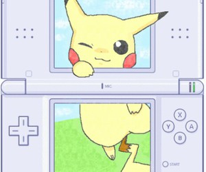 pikachu, pokemon, and ds image