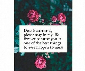 best friends, quotes, and forever image
