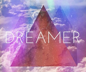 dreamer, clouds, and Dream image