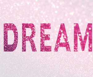 Dream, glitter, and pink image