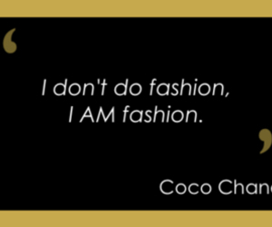 coco chanel, fashion, and text image