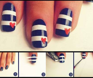 do it yourself, nails, and nail art tutorial image