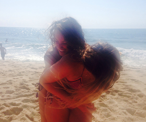 beach, best friend, and holidays image