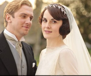 wedding, downton abbey, and love image