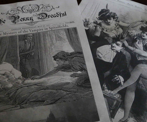 vampires, victorian, and penny dreadful image