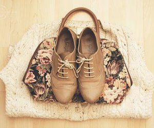 blouse, fashion, and flowers image