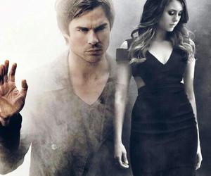 delena, the vampire diaries, and Nina Dobrev image