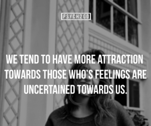 attraction, fact, and feelings image
