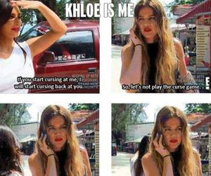 game, khloe, and relatable image