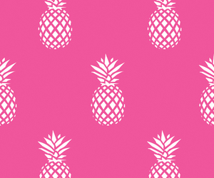 pink, pineapple, and background image